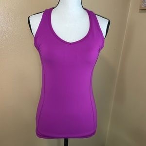 Purple GUC Champion M Fitted Built in Sports Bra